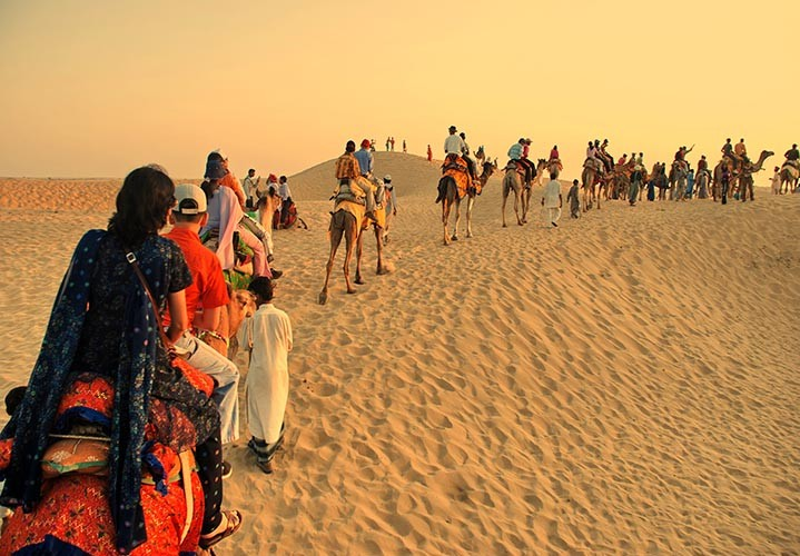 Sand Dunes Jaisalmer