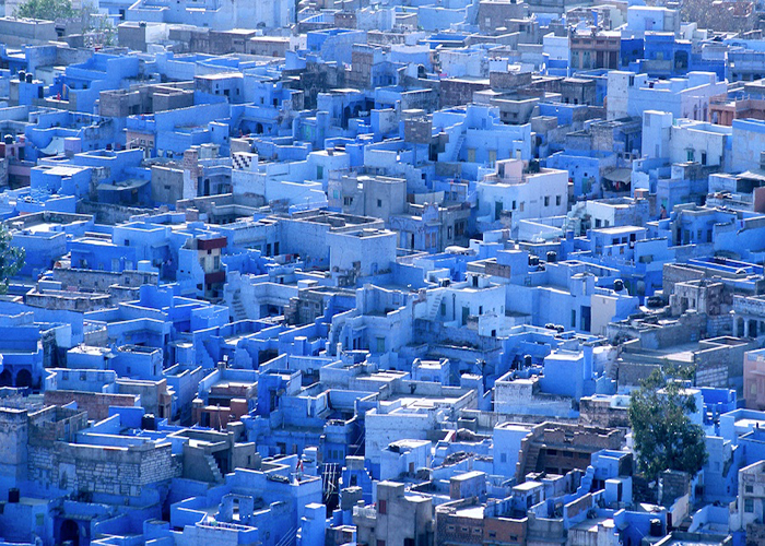 Blue City Walk Jodhpur Namaste Rajasthan
